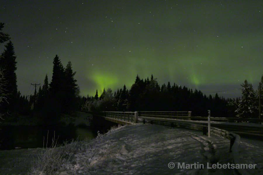 Finnland, Lappland, Ruka, Kuusamo, Nordlicht, Aurora borealis, copyright Martin Lebetsamer
