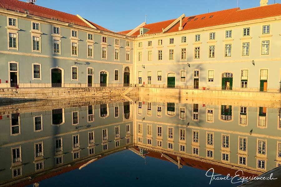 Portugal, Lissabon, Spiegelbild