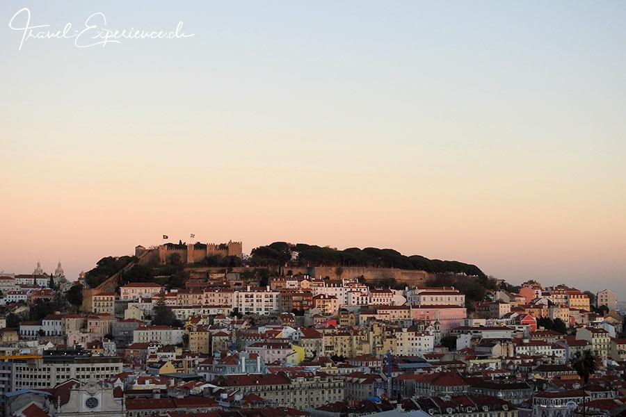 Portugal, Lissabon, Castelo de Sao Jorge