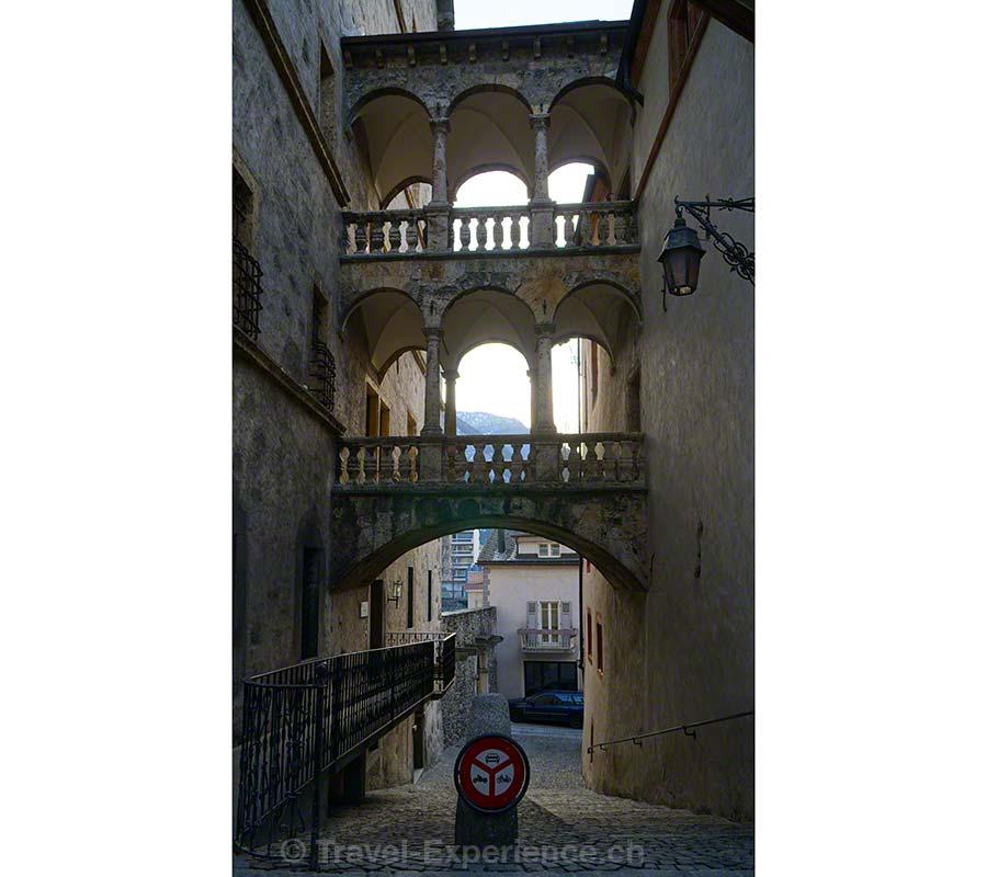 Brig, Altstadt, Architektur