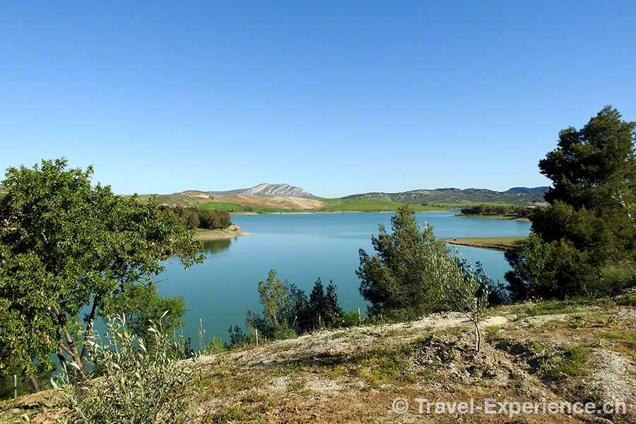 Spanien, Andalusien, Stausee Guadalhorce