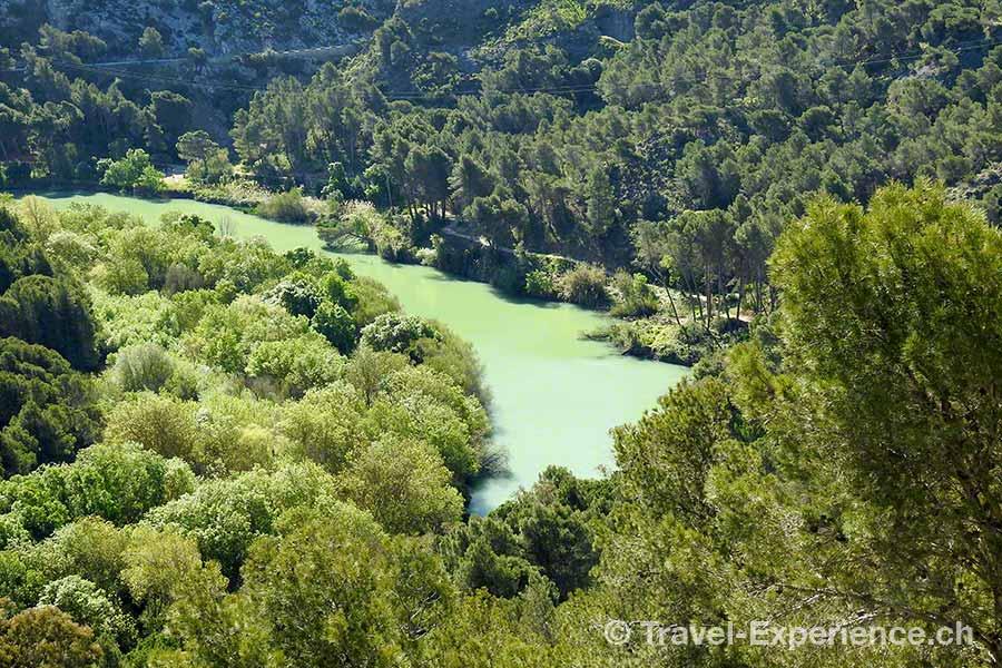 Spanien, Andalusien, Caminito del Rey,