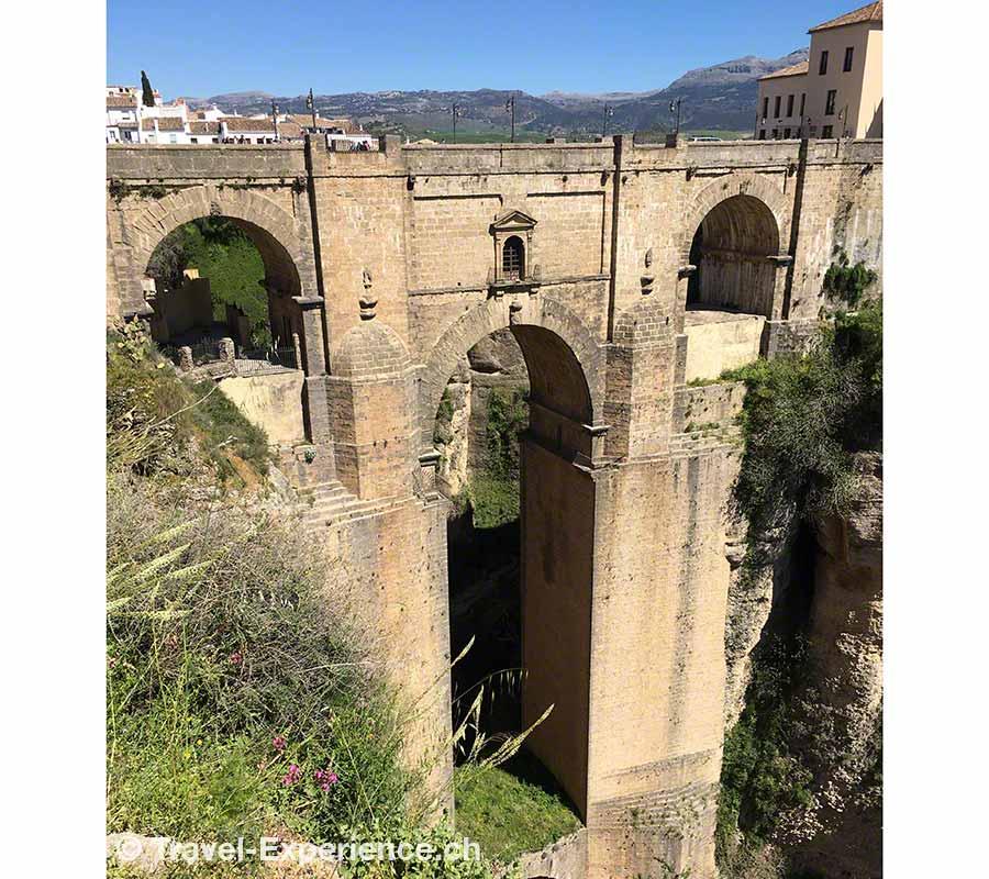 Spanien, Andalusien, Ronda, Bruecke, puente nuevo