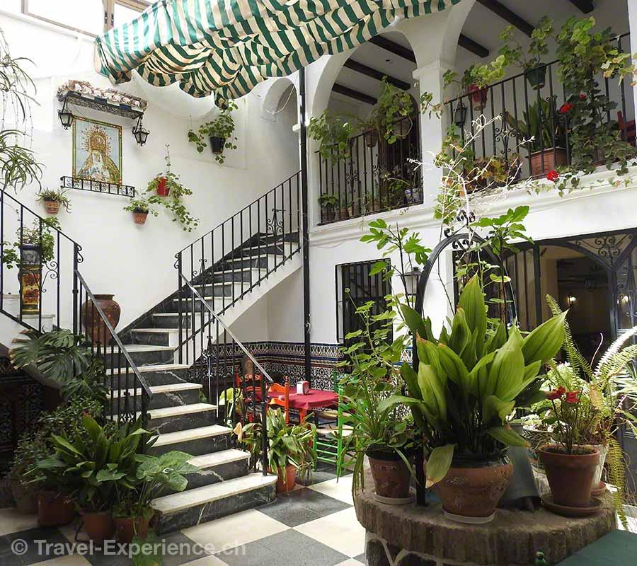Spanien, Andalusien, Ronda, Restaurant El Patio,