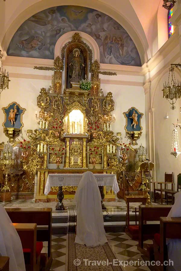 Spanien, Andalusien, Granada, Kirche, San Gregorio Betico, Nonne