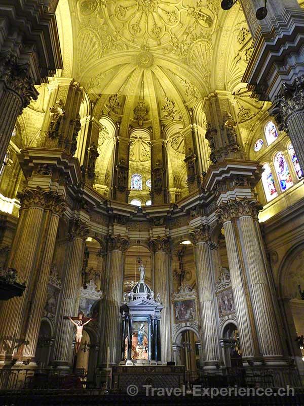 Spanien, Andalusien, Malaga, Kathedrale, Santa Iglesia Catedral Basilica de la Encarnacion
