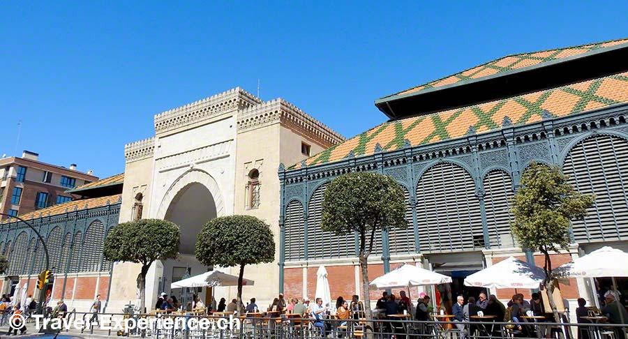 Spanien, Andalusien, Malaga, Mercado central Atarazanas