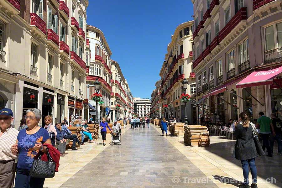 Spanien, Andalusien, Malaga, Altstadt