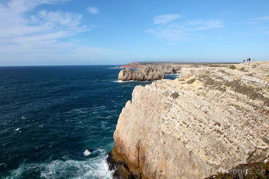 Martinhal Resort, Sagres, Algarve, Portugal, Steilküste, Fischerpfad