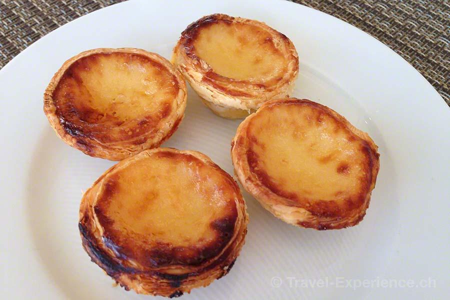 Martinhal Resort, Sagres, Algarve, Portugal, Restaurant O Terraco, Pasteis de Nata, Dessert