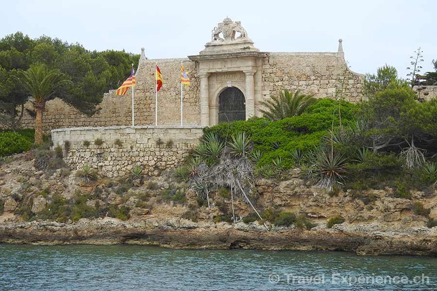 Spanien, Balearen, Menorca, Illa del Rei, Koenigsinsel