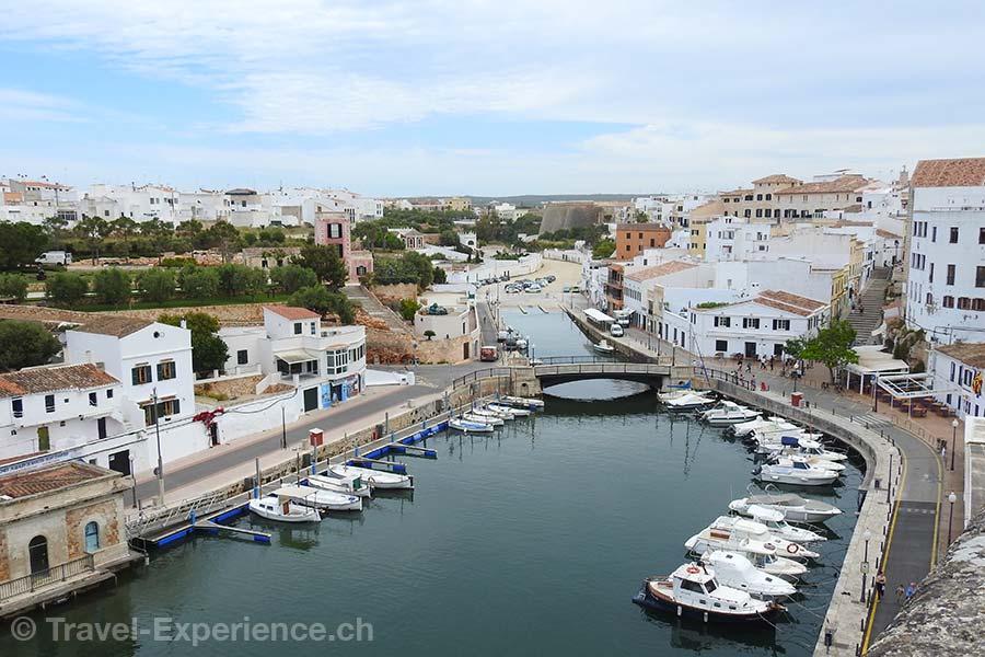 Spanien, Balearen, Menorca, Ciutadella, Hafen