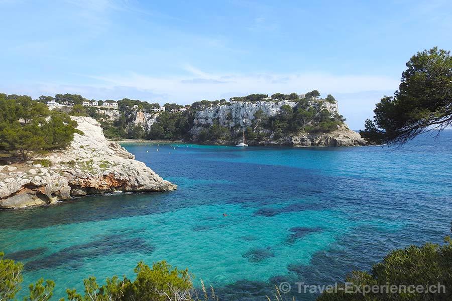 Spanien, Balearen, Menorca, Cala Galdana