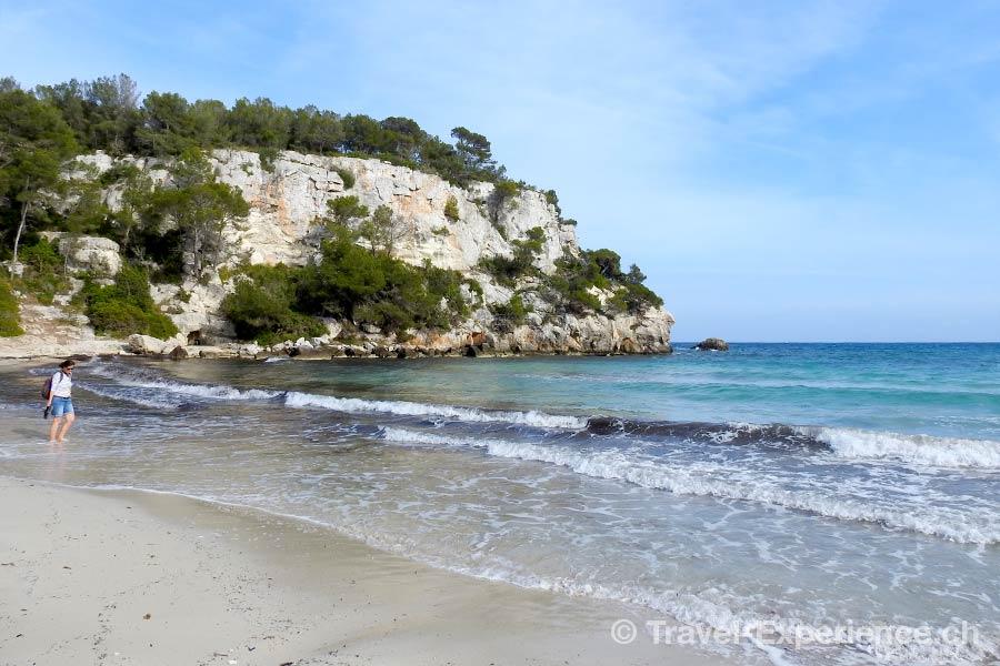 Spanien, Balearen, Menorca, Cala Galdana, Strand