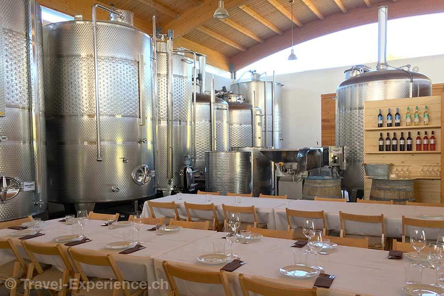 Spanien, Balearen, Menorca, bodegas binifadet, wine dine