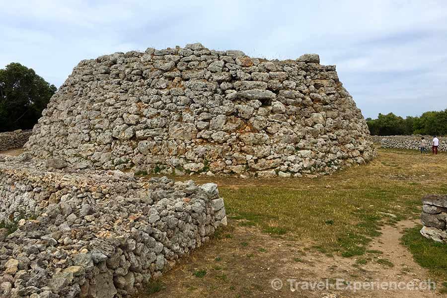 Spanien, Balearen, Menorca, Trepuco, Ausgrabung