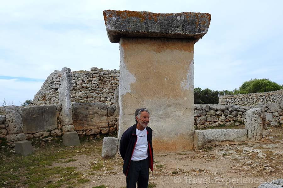 Spanien, Balearen, Menorca, Trepuco, Taula, Monument