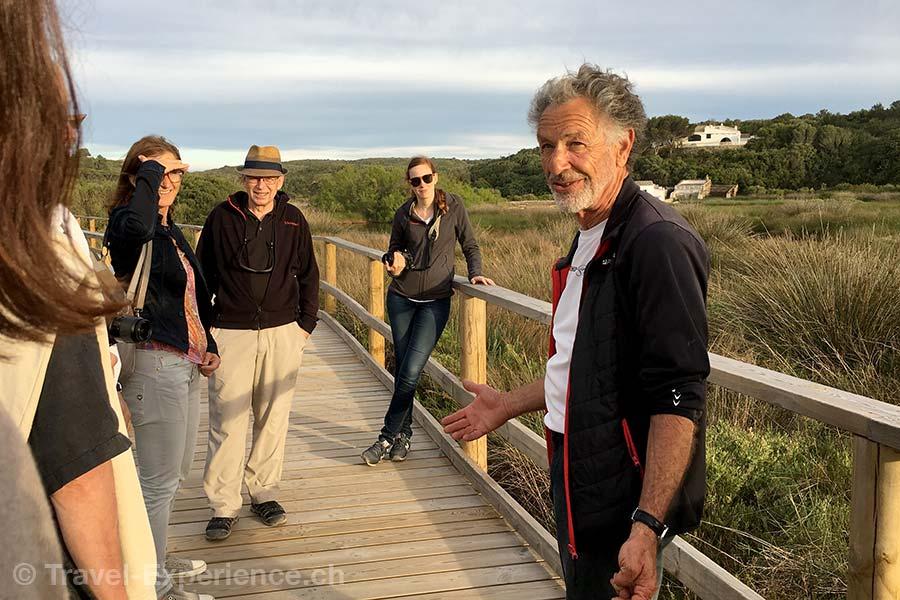 Spanien, Balearen, Menorca, S'Abufera des Grau, Ronald Fritz