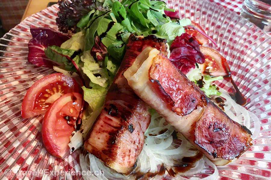 oesterreich, vorarlberg, montafon, sura kees, Salat, montafoner Spezialität