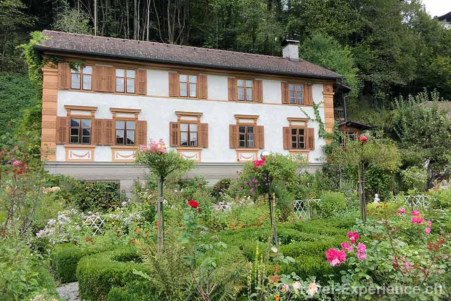 oesterreich, vorarlberg, montafon, Schruns, Garten