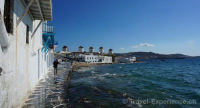 Mykonos, Windmuehlen