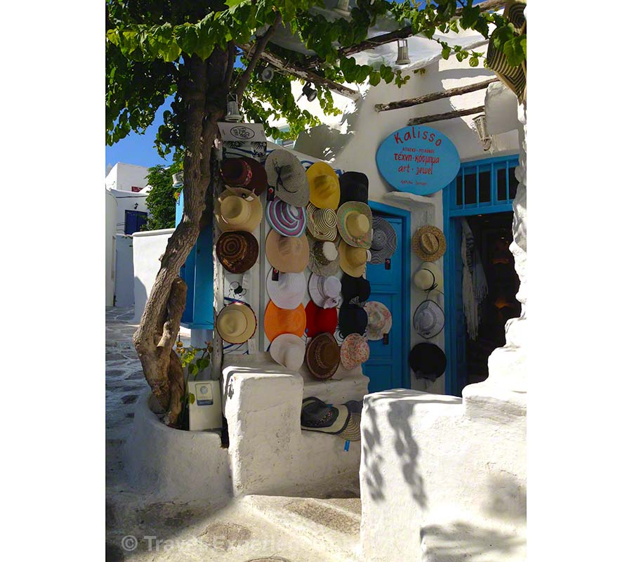 Mykonos, Shopping, Huete