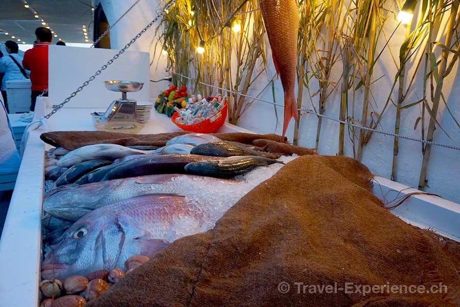 Mykonos, Restaurant Caprice, Fisch
