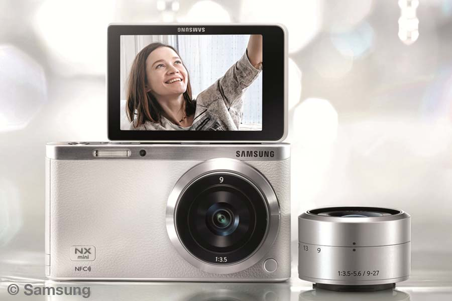 Samsung, NX-mini, Selfies
