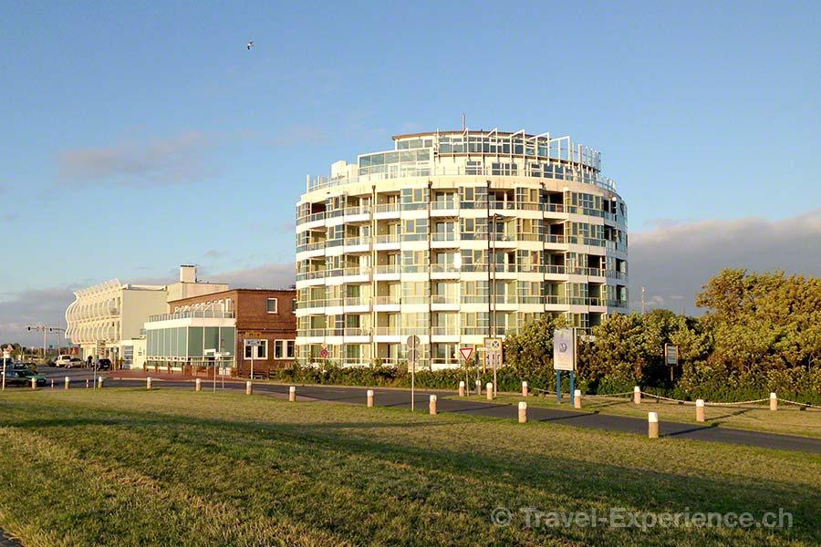 Ostfriesland, Hotel Fährhaus, Norddeich, Hafen