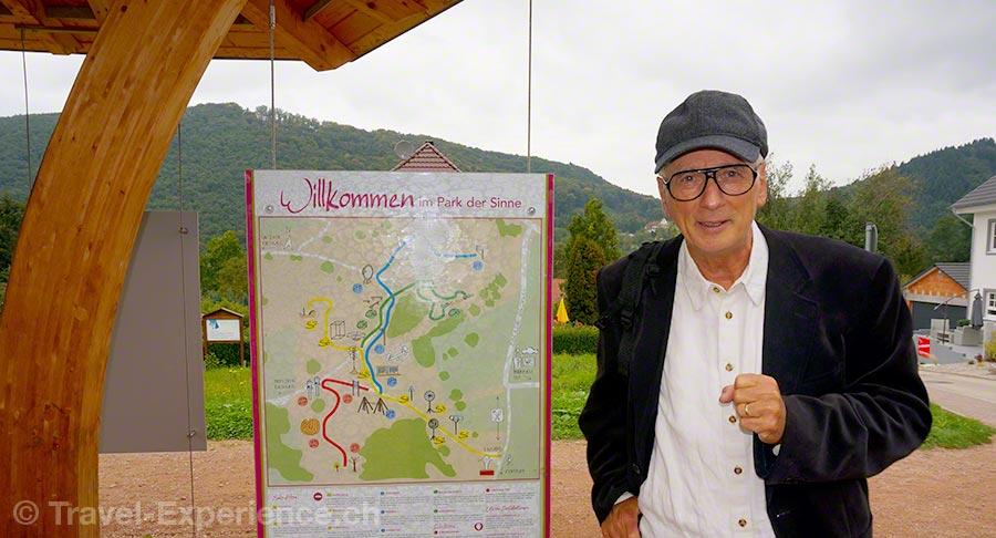 Badenweiler, Park der Sinne, Dr. Hans-Juergen Scheurle