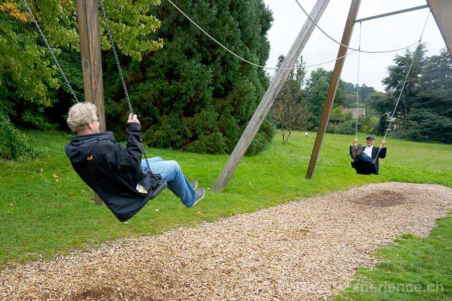 Badenweiler, Park der Sinne, Partnerschaukel