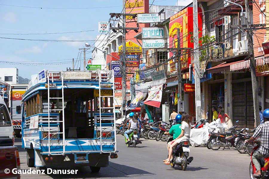 Phuket, Town, Verkehr
