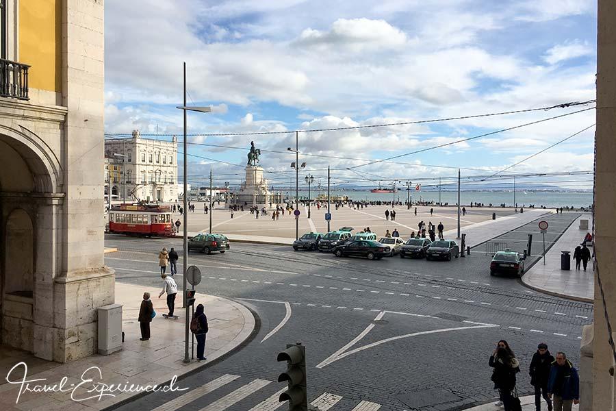 Portugal, Lissabon, Pousada de Lisboa, Aussicht, Praca do Comercio