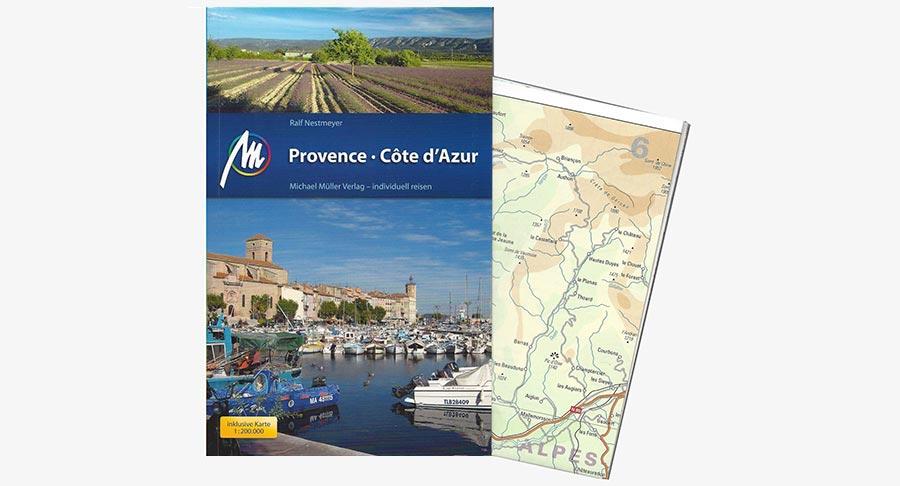 Provence & Côte d'Azur, Buch, Reiseführer, Müller Verlag