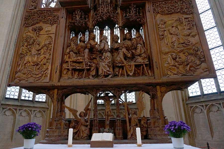 Rothenburg ob der Tauber, Heilig-Blut-Altar, Riemenschneider