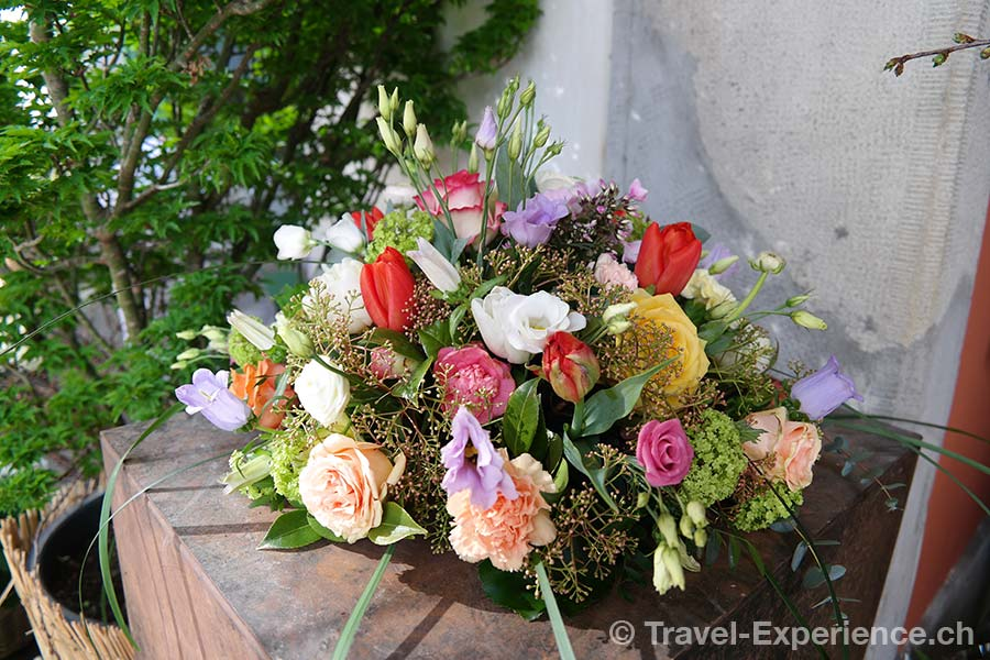 Zuerich, Blumen, Schipfe