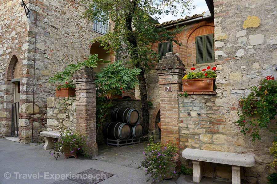Italien, Toskana, Borgo San Felice, Hotel