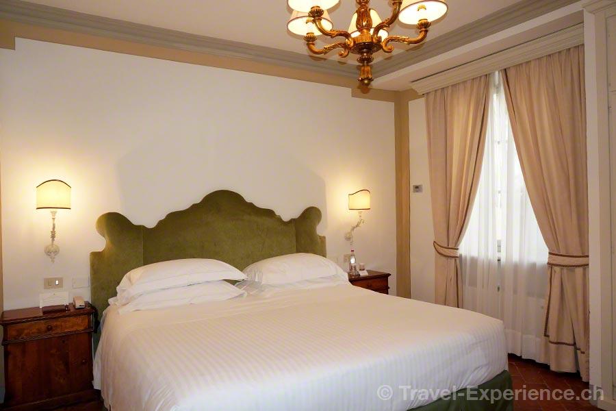 Italien, Toskana, Borgo San Felice, Hotel, Palazzo, Schlafzimmer