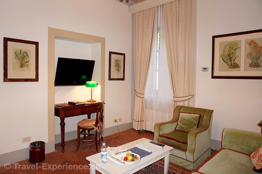 Italien, Toskana, Borgo San Felice, Hotel, Salon