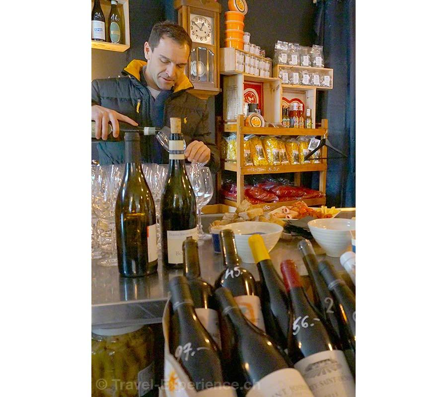 Gstaad, Saanen, Boucherie 16, Wein, Fleisch, TakeAway