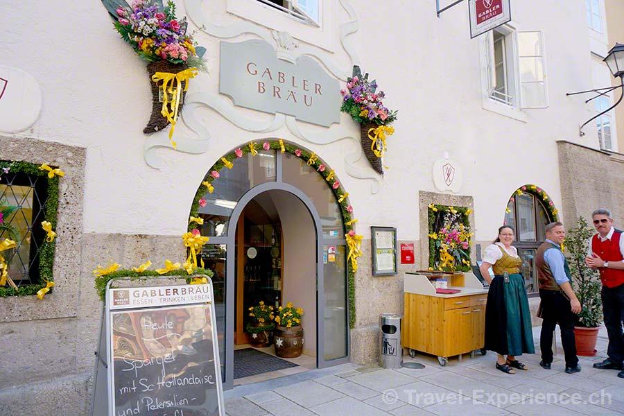 Salzburg, Bier, Hotel, Gablerbräu