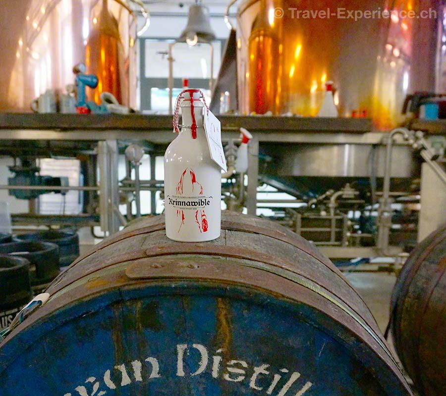 Salzburg, Hof, Gusswerk, Krinnawible, Bier, Whiskyfass, Braukessel