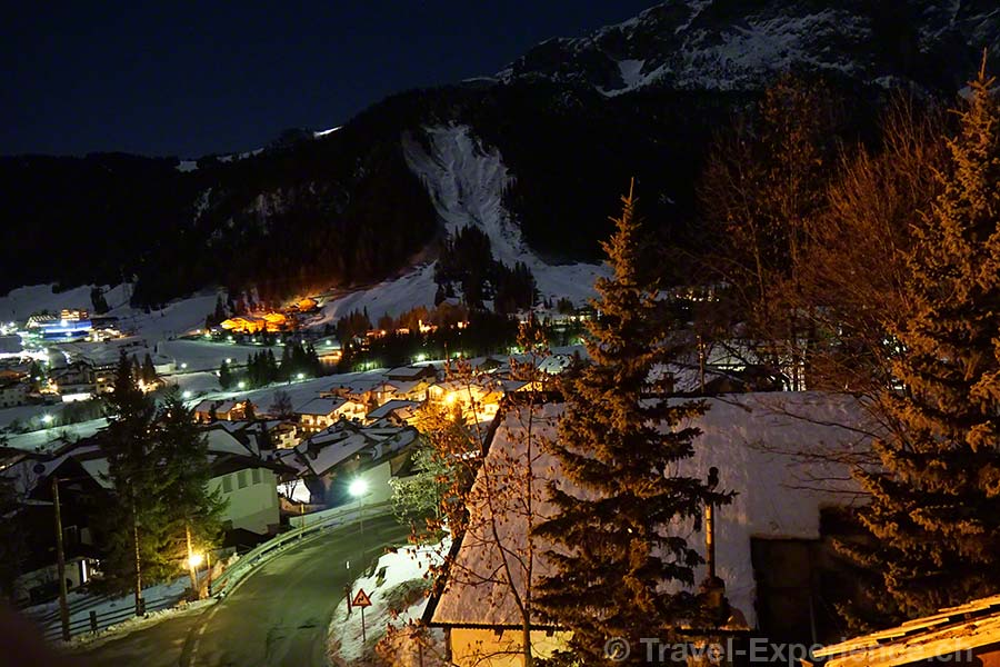 Südtirol, Corvara, by night