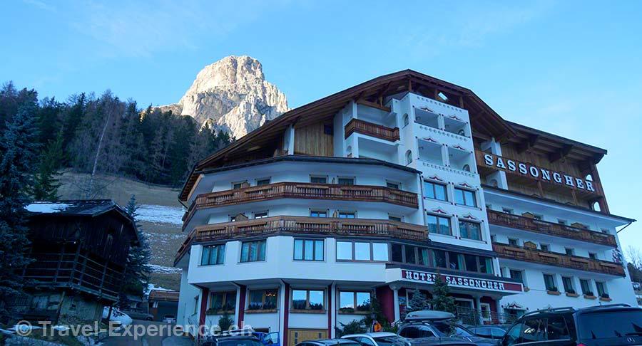 Südtirol, Corvara, Hotel Sassongher