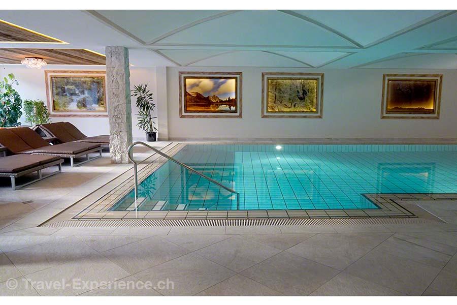 Südtirol, Corvara, Hotel Sassongher, Pool