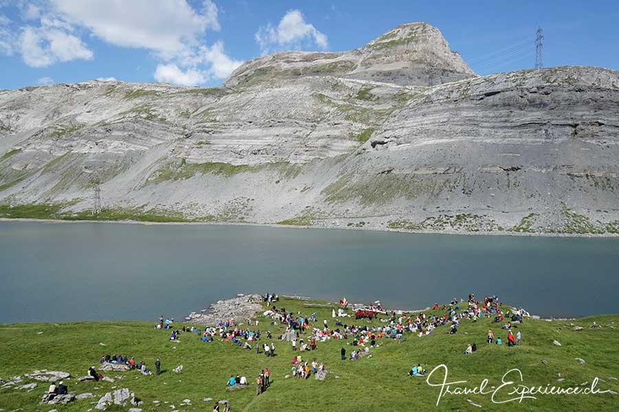 Schweiz, wallis, leukerbad, gemmi, schaeferfest, daubensee