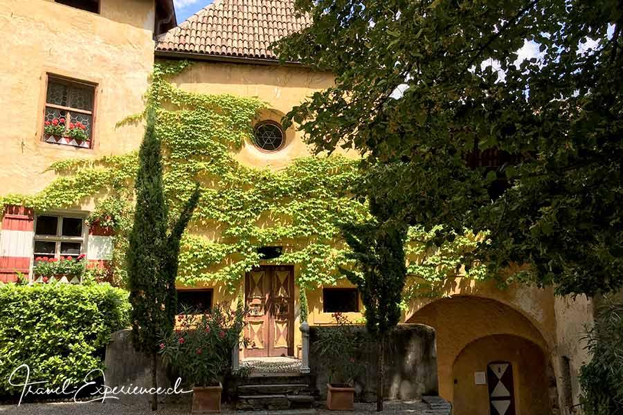 Italien, Schenna, Schloss Schenna, Innenhof