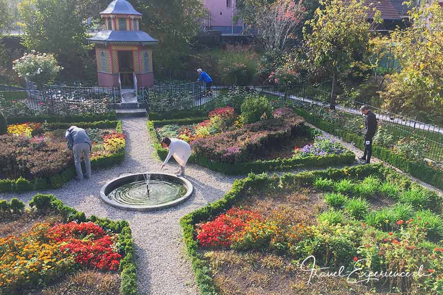 Bauerngarten, Hotel Baeren, Dürrenroth, Achtsamkeit, uebung