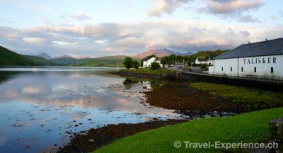 Schottland, Whisky, Talisker, Skye Schottland, Whisky, Lagavulin, Islay Schottland, Whisky, Talisker Schottland, Three Chimneys Schottland, Skye, Seehunde Schottland, Skye, Kinloch Schottland, Eilean Donan Castle