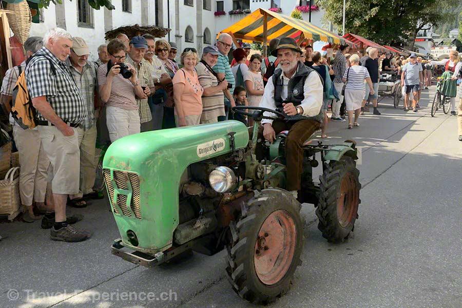 oesterreich, tirol, olympiaregion seefeld, Handwerksfest, Handwerkermarkt, Traktorenparade,
